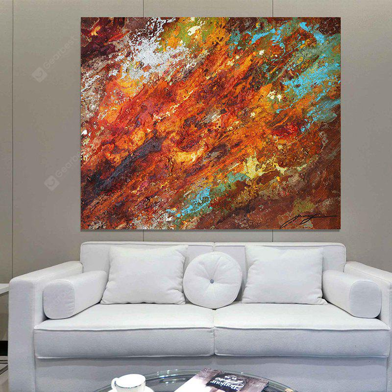 XiangYunChengFeng Canvas Print Painting Modern Abstract Home Decoration / Wall Art LAWN