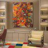 Buy XiangYunChengFeng Canvas Print Painting Modern Abstract Home Decoration / Wall Art RED + GREEN YELLOW