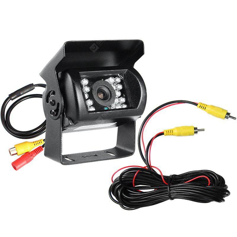 GISION 24V IR Night Vision Reverse Camera CMOS Waterproof Truck Review / Parking 3.6MM