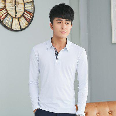 Mens Personality Printing Polo Neck Long Sleeve Slim T-ShirtMens T-shirts<br>Mens Personality Printing Polo Neck Long Sleeve Slim T-Shirt<br><br>Collar: Polo Collar<br>Fabric Type: Broadcloth<br>Material: Cotton<br>Package Contents: 1 x T-Shirt<br>Pattern Type: Print<br>Sleeve Length: Full<br>Style: Fashion<br>Weight: 0.2000kg