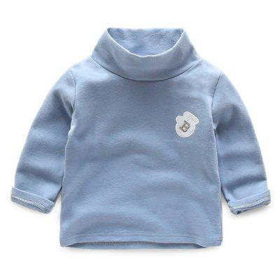 Buy LAPIS 110 2017 Spring New Korean Boy Turtleneck T-Shirt Male Baby Turtle Neck Long Sleeve T-Shirt Pure Children Leisure Shirt for $21.73 in GearBest store
