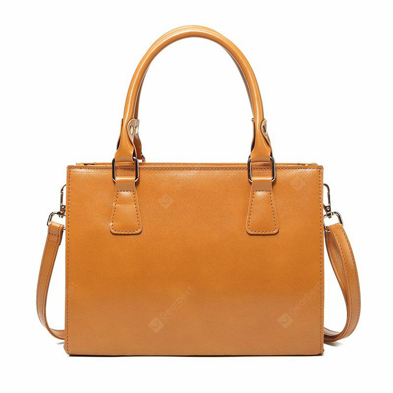 2017 New Winter Leisure Contracted All-Match Solid Single Shoulder Bag Hand Bag Female Female Satchel