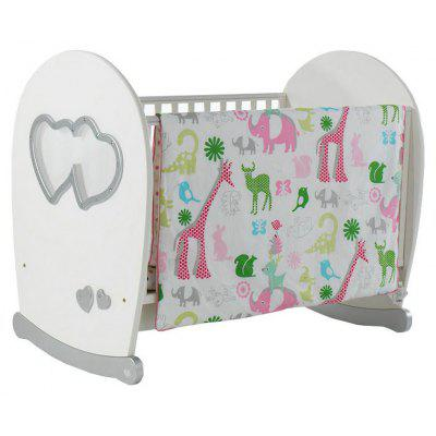 I-Baby Baby Bedding 3pcs Printed Crib Bumpers