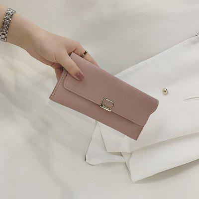 Fashion Simple Handbag Purse for WomenHandbags<br>Fashion Simple Handbag Purse for Women<br><br>Closure Type: Snap Fastener<br>Color: Pink  Black<br>Gender: For Women<br>Height: 9<br>Interior: Interior Compartment<br>Length(CM): 1<br>Main Material: PU<br>Package Contents: 1x Bag<br>Package size (L x W x H): 20.00 x 2.00 x 10.00 cm / 7.87 x 0.79 x 3.94 inches<br>Package weight: 0.1700 kg<br>Pattern Type: Solid<br>Product weight: 0.1500 kg<br>Style: Fashion<br>Wallets Type: Standard Wallets<br>Width: 2