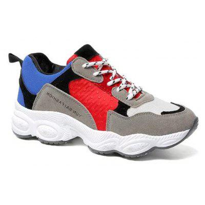 2017 New Autumn All-Match Thick Soled Running Shoes Students Sports Shoes Women's Shoes