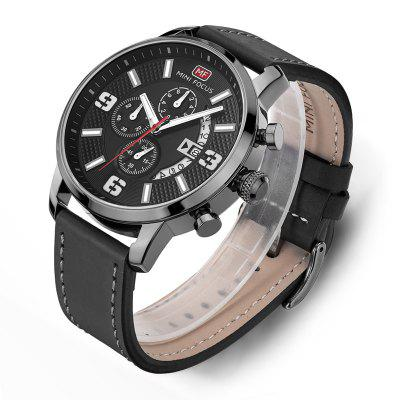 MINI FOCUS 4296 Leisure Calendar Display Men WatchMens Watches<br>MINI FOCUS 4296 Leisure Calendar Display Men Watch<br><br>Band material: Leather<br>Band size: 21 x 2.2cm<br>Brand: MINI FOCUS<br>Case material: Alloy<br>Clasp type: Pin buckle<br>Dial size: 4.8 x 4.8 x 1.27cm<br>Movement type: Quartz watch<br>Package Contents: 1 x Watch, 1 x Watch Box<br>Package size (L x W x H): 28.00 x 8.00 x 3.50 cm / 11.02 x 3.15 x 1.38 inches<br>Package weight: 0.0950 kg<br>Product size (L x W x H): 21.00 x 4.80 x 1.27 cm / 8.27 x 1.89 x 0.5 inches<br>Product weight: 0.0650 kg<br>Shape of the dial: Round<br>Watch mirror: Mineral glass<br>Watch style: Fashion, Outdoor Sports, Business, Casual<br>Watches categories: Men