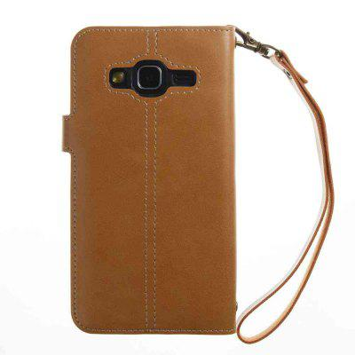 Crazy Horse Pattern Retro Leather Phone Case for Samsung Galaxy  J3 2016 / 2015Samsung J Series<br>Crazy Horse Pattern Retro Leather Phone Case for Samsung Galaxy  J3 2016 / 2015<br><br>Features: Full Body Cases, With Credit Card Holder, With Lanyard, Dirt-resistant<br>For: Samsung Mobile Phone<br>Functions: Camera Hole Location<br>Material: PU Leather, TPU<br>Package Contents: 1 x Phone Case<br>Package size (L x W x H): 14.50 x 8.20 x 1.80 cm / 5.71 x 3.23 x 0.71 inches<br>Package weight: 0.0550 kg<br>Style: Vintage, Solid Color, Novelty<br>Using Conditions: Cruise