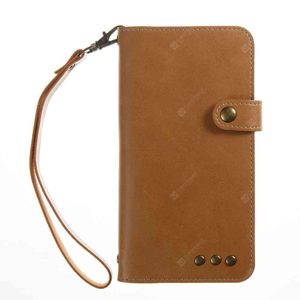 Crazy Horse Pattern Retro Leather Phone Case for Samsung Galaxy J3 2016 / 2015