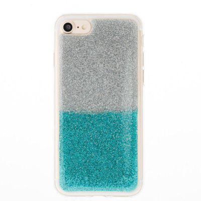Flash Powder Painted Two-Color TPU Phone Case for Iphone 7 / 8iPhone Cases/Covers<br>Flash Powder Painted Two-Color TPU Phone Case for Iphone 7 / 8<br><br>Compatible for Apple: iPhone 7, iPhone 8<br>Features: Back Cover, Anti-knock, Dirt-resistant<br>Material: TPU<br>Package Contents: 1 x Phone Case<br>Package size (L x W x H): 13.80 x 7.00 x 1.00 cm / 5.43 x 2.76 x 0.39 inches<br>Package weight: 0.0300 kg<br>Style: Pattern, Ultra Slim, Designed in China, Novelty