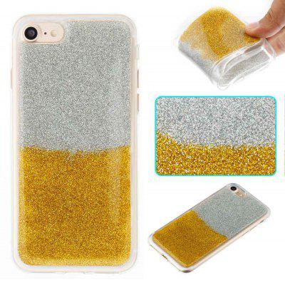 Flash Powder Painted bicolore TPU Phone Case pour Iphone 7/8
