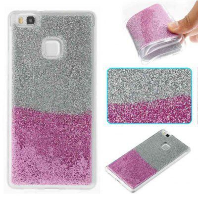 Buy DAHLIA Flash Powder Painted Two-Color TPU Phone Case for Huawei P9 Lite for $4.39 in GearBest store