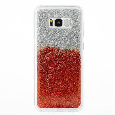 Flash Powder Painted Two-Color TPU Phone Case for Samsung Galaxy S8 PlusSamsung S Series<br>Flash Powder Painted Two-Color TPU Phone Case for Samsung Galaxy S8 Plus<br><br>Compatible with: Samsung Galaxy S8 Plus<br>Features: Back Cover<br>For: Samsung Mobile Phone<br>Material: TPU<br>Package Contents: 1 x Phone Case<br>Package size (L x W x H): 15.50 x 7.30 x 1.00 cm / 6.1 x 2.87 x 0.39 inches<br>Package weight: 0.0390 kg<br>Style: Novelty