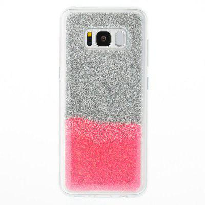 Flash Powder Painted Two-Color TPU Phone Case for Samsung Galaxy S8Samsung S Series<br>Flash Powder Painted Two-Color TPU Phone Case for Samsung Galaxy S8<br><br>Compatible with: Samsung Galaxy S8<br>Features: Back Cover<br>For: Samsung Mobile Phone<br>Material: TPU<br>Package Contents: 1 x Phone Case<br>Package size (L x W x H): 14.50 x 7.20 x 1.00 cm / 5.71 x 2.83 x 0.39 inches<br>Package weight: 0.0310 kg<br>Style: Novelty