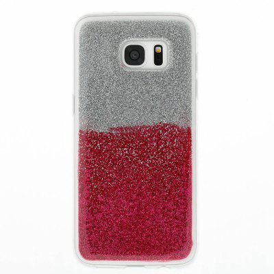 Flash Powder Painted Two-Color TPU Phone Case for Samsung Galaxy S7 EdgeSamsung S Series<br>Flash Powder Painted Two-Color TPU Phone Case for Samsung Galaxy S7 Edge<br><br>Compatible for Samsung: Samsung Galaxy S7 Edge<br>Features: Back Cover<br>For: Samsung Mobile Phone<br>Material: TPU<br>Package Contents: 1 x Phone Case<br>Package size (L x W x H): 15.20 x 7.60 x 1.00 cm / 5.98 x 2.99 x 0.39 inches<br>Package weight: 0.0320 kg<br>Style: Novelty