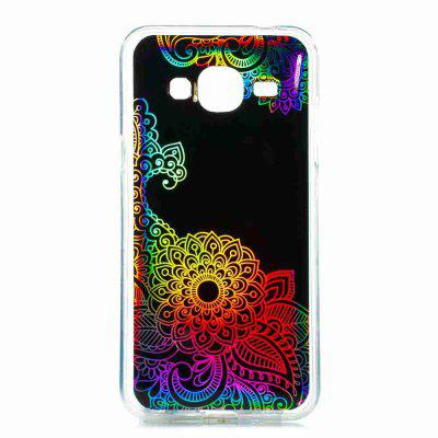 Flash Powder Painted  Colorful TPU Phone Case for Samsung Galaxy J3 2016 / 2015Samsung J Series<br>Flash Powder Painted  Colorful TPU Phone Case for Samsung Galaxy J3 2016 / 2015<br><br>Features: Back Cover, Anti-knock, Dirt-resistant<br>For: Samsung Mobile Phone<br>Functions: Camera Hole Location<br>Material: TPU<br>Package Contents: 1 x Phone Case<br>Package size (L x W x H): 14.50 x 7.40 x 0.80 cm / 5.71 x 2.91 x 0.31 inches<br>Package weight: 0.0250 kg<br>Style: Mixed Color, Novelty, Pattern<br>Using Conditions: Skiing,Cruise