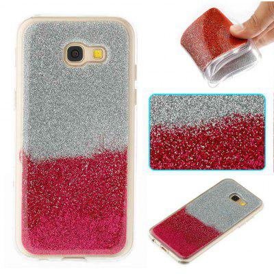 Flash Powder Painted Two-Color TPU Phone Case for Samsung Galaxy A5 2017