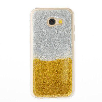 Flash Powder Painted Two-Color TPU Phone Case for Samsung Galaxy A5 2017Samsung A Series<br>Flash Powder Painted Two-Color TPU Phone Case for Samsung Galaxy A5 2017<br><br>Features: Back Cover<br>For: Samsung Mobile Phone<br>Material: TPU<br>Package Contents: 1 x Phone Case<br>Package size (L x W x H): 14.60 x 7.30 x 1.00 cm / 5.75 x 2.87 x 0.39 inches<br>Package weight: 0.0330 kg<br>Style: Novelty