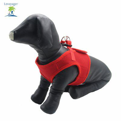 Lovoyager LVHA15002Soft Mesh Pet Dog Safety Leash Dog Harness Vest Adjustable Leash Collar For DogDog Carriers<br>Lovoyager LVHA15002Soft Mesh Pet Dog Safety Leash Dog Harness Vest Adjustable Leash Collar For Dog<br><br>Color: Pink,Black,Red<br>For: Dogs<br>Functions: Others<br>Item: pet harness for dog<br>Material: Nylon<br>Occasion: Outdoor/Travel/Car/Sport<br>Package Contents: 1 x Dog Harness<br>Package size (L x W x H): 21.00 x 19.00 x 2.00 cm / 8.27 x 7.48 x 0.79 inches<br>Package weight: 0.0700 kg<br>Season: Spring, Summer<br>Size: Others<br>Type: Collars