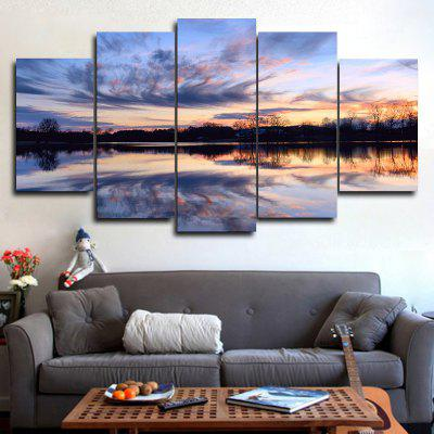 DYC 101-18348 5PCS Landscape Canvas  Print ArtPrints<br>DYC 101-18348 5PCS Landscape Canvas  Print Art<br><br>Brand: DYC<br>Craft: Oil Painting<br>Form: Five Panels<br>Material: Canvas<br>Package Contents: 1 x Set of Print Arts<br>Package size (L x W x H): 38.00 x 6.00 x 6.00 cm / 14.96 x 2.36 x 2.36 inches<br>Package weight: 0.6000 kg<br>Painting: Without Inner Frame<br>Shape: Horizontal Panoramic<br>Style: Scenery / Landscape, New Arrival, Oil Painting<br>Subjects: Landscape<br>Suitable Space: Living Room,Bedroom,Dining Room,Office