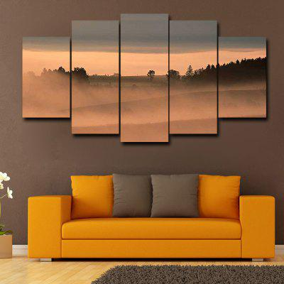 DYC 101-29991 5PCS Landscape Canvas  Print ArtPrints<br>DYC 101-29991 5PCS Landscape Canvas  Print Art<br><br>Brand: DYC<br>Craft: Oil Painting<br>Form: Five Panels<br>Material: Canvas<br>Package Contents: 1 x Set of Print Arts<br>Package size (L x W x H): 38.00 x 38.00 x 6.00 cm / 14.96 x 14.96 x 2.36 inches<br>Package weight: 0.6000 kg<br>Painting: Without Inner Frame<br>Shape: Horizontal Panoramic<br>Style: Oil Painting, Scenery / Landscape<br>Subjects: Landscape<br>Suitable Space: Garden,Living Room,Bathroom,Bedroom,Study Room / Office