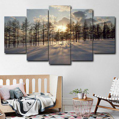 DYC 101-42015 5PCS Landscape Canvas  Print ArtPrints<br>DYC 101-42015 5PCS Landscape Canvas  Print Art<br><br>Brand: DYC<br>Craft: Oil Painting<br>Form: Five Panels<br>Material: Canvas<br>Package Contents: 1 x Set of Print Arts<br>Package size (L x W x H): 38.00 x 38.00 x 6.00 cm / 14.96 x 14.96 x 2.36 inches<br>Package weight: 0.5000 kg<br>Painting: Without Inner Frame<br>Shape: Horizontal Panoramic<br>Style: Scenery / Landscape, New Arrival, Oil Painting<br>Subjects: Landscape<br>Suitable Space: Dining Room,Kids Room,Corridor,Study Room / Office