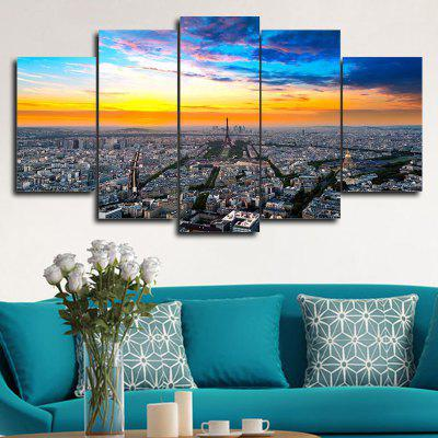 DYC 101-49126 5PCS Landscape Canvas  Print ArtOil Paintings<br>DYC 101-49126 5PCS Landscape Canvas  Print Art<br><br>Brand: DYC<br>Craft: Oil Painting<br>Form: Five Panels<br>Material: Canvas<br>Package Contents: 1 x Set of Print Arts<br>Package size (L x W x H): 38.00 x 38.00 x 6.00 cm / 14.96 x 14.96 x 2.36 inches<br>Package weight: 0.5000 kg<br>Painting: Without Inner Frame<br>Shape: Horizontal Panoramic<br>Style: Scenery / Landscape, New Arrival, Oil Painting<br>Subjects: Landscape<br>Suitable Space: Dining Room,Hotel,Hallway,Game Room
