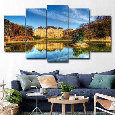 DYC 101-49170 5PCS Landscape Canvas  Print ArtOil Paintings<br>DYC 101-49170 5PCS Landscape Canvas  Print Art<br><br>Brand: DYC<br>Craft: Oil Painting<br>Form: Five Panels<br>Material: Canvas<br>Package Contents: 1 x Set of Print Arts<br>Package size (L x W x H): 38.00 x 38.00 x 6.00 cm / 14.96 x 14.96 x 2.36 inches<br>Package weight: 0.5000 kg<br>Painting: Without Inner Frame<br>Shape: Horizontal Panoramic<br>Style: Scenery / Landscape, New Arrival, Oil Painting<br>Subjects: Landscape<br>Suitable Space: Garden,Living Room,Hotel,Kids Room,Hallway