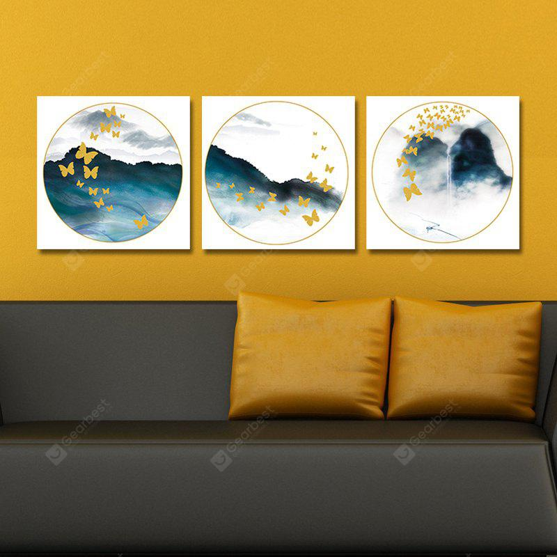 DYC 10092 3PCS Abstract Landscape Print Art Ready to Hang Paintings