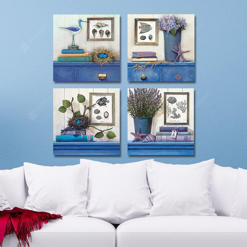 DYC 10105 4PCS Landscape Print Art Ready to Hang Paintings