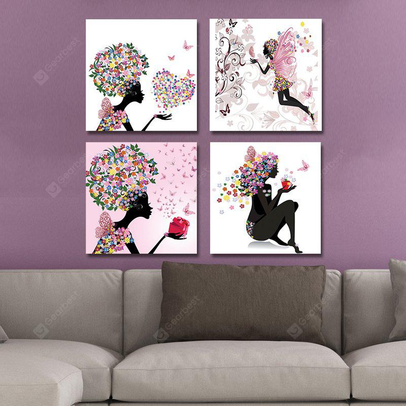 DYC 10107 4PCS Angels Print Art Ready to Hang Paintings