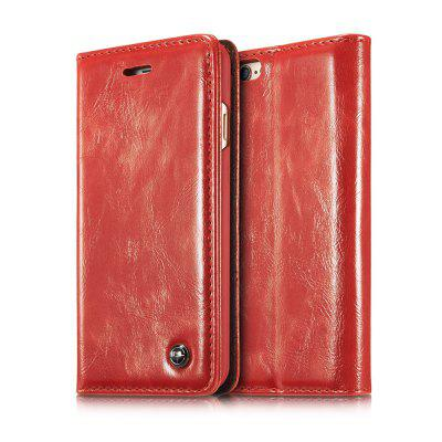 CaseMe Premium Leather Magnetic Closure Case Cover for iPhone 6 / 6siPhone Cases/Covers<br>CaseMe Premium Leather Magnetic Closure Case Cover for iPhone 6 / 6s<br><br>Compatible for Apple: iPhone 6, iPhone 6S<br>Features: Cases with Stand, With Credit Card Holder<br>Material: PU Leather, TPU<br>Package Contents: 1 x Phone Case<br>Package size (L x W x H): 19.00 x 11.00 x 3.00 cm / 7.48 x 4.33 x 1.18 inches<br>Package weight: 0.1500 kg<br>Product weight: 0.1000 kg<br>Style: Solid Color, Vintage