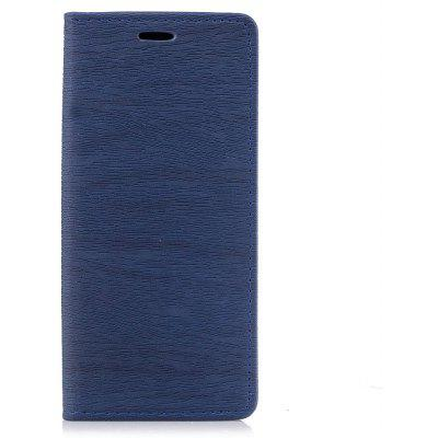 Slim Tree Skin Grain Texture PU Leather Wallet Stand Case with Magnetic Flap for Samsung Galaxy S8