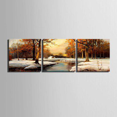 Yc Special Design Frameless Paintings Landscape Snow of 3Prints<br>Yc Special Design Frameless Paintings Landscape Snow of 3<br><br>Craft: Print<br>Form: Three Panels<br>Material: Canvas<br>Package Contents: 3 x Print<br>Package size (L x W x H): 35.00 x 35.00 x 2.00 cm / 13.78 x 13.78 x 0.79 inches<br>Package weight: 1.2200 kg<br>Painting: Include Inner Frame<br>Shape: Horizontal Panoramic<br>Style: Vintage, Fashion, Novelty, Formal, Casual, Active<br>Subjects: Abstract<br>Suitable Space: Indoor,Garden,Living Room,Bathroom,Bedroom,Dining Room,Office,Hotel,Cafes,Kids Room,Kids Room,Study Room / Office,Boys Room,Girls Room,Game Room