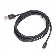 USB 2.0 Braided Micro USB 5 Pin Hi-speed Data Charging Cable 2M