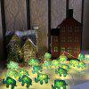 Elephant Shape String Lights for Patio Micro 2M 20-LED - WARM WHITE LIGHT