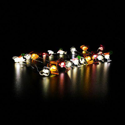 Bar Shape String Lights for Patio Micro 2M 20-LEDLED Strips<br>Bar Shape String Lights for Patio Micro 2M 20-LED<br><br>Beam Angle: 180 degree<br>Bulb Included: Yes<br>Color Temperature or Wavelength: 2700 - 3000K<br>Features: Festival Lighting<br>Initial Lumens ( lm ): 120LM<br>LED Quantity: 20<br>Length ( m ): 2<br>Light color: Warm white light<br>Light Source: Energy Saving,LED,SMD 0603<br>Package Content: 1 x LED String Lights,1 x Battery Box, 1 x English User Manual ,1 x PVC Gift Box<br>Package size (L x W x H): 9.00 x 3.00 x 8.00 cm / 3.54 x 1.18 x 3.15 inches<br>Package weight: 0.0500 kg<br>Power Supply: 3 x 1.5V AA battery<br>Product weight: 0.0450 kg<br>Type: LED Strip Light, Light Sets, String Lights<br>Voltage: DC 4.5V<br>Waterproof Rate: IP44<br>Wattage (W): 1