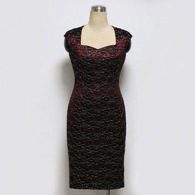 Womens Dress Sleeveless Square Collar Slim Plus Size DressBodycon Dresses<br>Womens Dress Sleeveless Square Collar Slim Plus Size Dress<br><br>Dresses Length: Knee-Length<br>Elasticity: Elastic<br>Fabric Type: Broadcloth<br>Material: Polyester<br>Neckline: Square Collar<br>Package Contents: 1 X Dress<br>Pattern Type: Others<br>Season: Summer<br>Silhouette: Sheath<br>Sleeve Length: Sleeveless<br>Style: Bohemian<br>Weight: 1.0000kg<br>With Belt: No