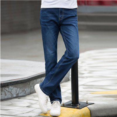 Autumn Fashion Skinny Jeans MaleMens Pants<br>Autumn Fashion Skinny Jeans Male<br><br>Closure Type: Zipper Fly<br>Color: Blue<br>Fabric Type: Broadcloth<br>Fit Type: Skinny<br>Material: 68.6% Cotton 29.6% Polyester 1.1% Spandex 0.7% Viscose, Cotton, Polyester, Spandex<br>Package Contents: 1 X Jean<br>Pant Length: Long Pants<br>Pant Style: Straight<br>Season: Spring Summer Autumn Winter<br>Size: 29 30 31 32 33 34 36 38 40<br>Style: Blue Long Jeans<br>Waist Type: Mid<br>Wash: Light<br>Weight: 0.6000kg