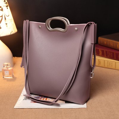 2017 New Korean Fashion Bags Handbag Lash Tote Bag Handbag Shoulder Bag Large Simple Leisure BagHandbags<br>2017 New Korean Fashion Bags Handbag Lash Tote Bag Handbag Shoulder Bag Large Simple Leisure Bag<br><br>Closure Type: Magnetic Closure<br>Embellishment: Sequined<br>Exterior: None<br>Gender: For Women<br>Handbag Size: Small(20-30cm)<br>Handbag Type: Totes<br>Hardness: Soft<br>Lining Material: PU<br>Main Material: PU<br>Number of Handles / Straps: None<br>Occasion: Versatile<br>Package Contents: 1 x Hand Bag 1 x Clutch Bag<br>Package size (L x W x H): 27.00 x 8.00 x 30.00 cm / 10.63 x 3.15 x 11.81 inches<br>Package weight: 0.5000 kg<br>Pattern Type: Solid<br>Shape: Composite Bag<br>Size(CM)(L*W*H): 27x8x30<br>Style: Gothic<br>Weight: 1.2960kg