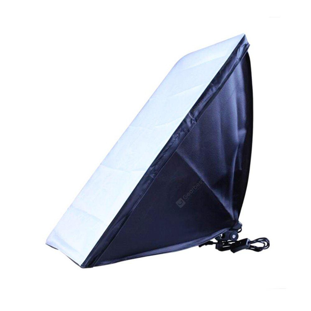 50 x 70CM Softbox with E27 Single Photography Lamp