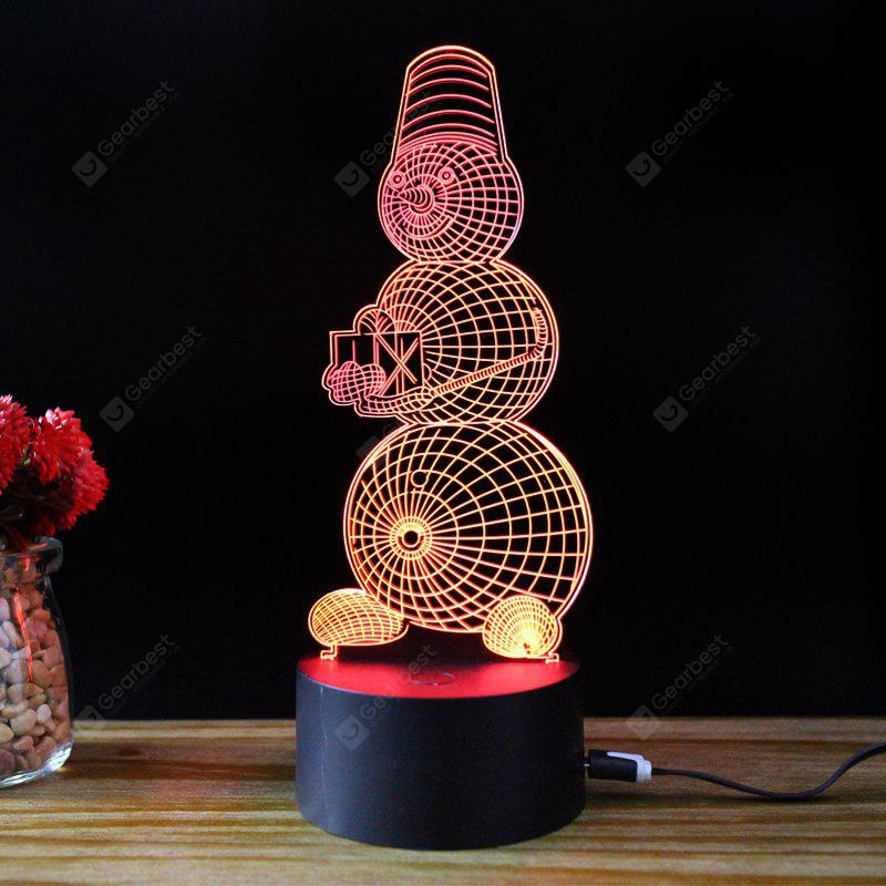 M.Sparkling TD204 Creative Christmas Snowman Night Lamp