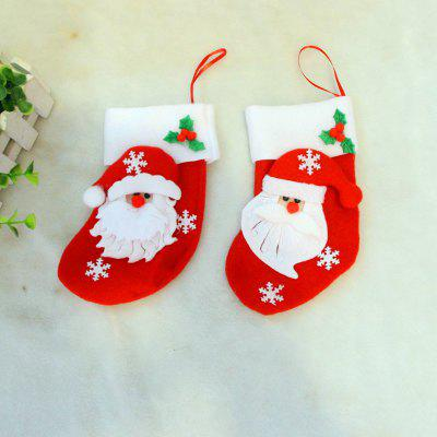 2pcs Santa Claus Gift Socks Knife and Fork Bag Christmas Tree OrnamentsChristmas Supplies<br>2pcs Santa Claus Gift Socks Knife and Fork Bag Christmas Tree Ornaments<br><br>Material: Nonwoven<br>Package Quantity: 2 x Socks<br>Package size (L x W x H): 15.00 x 12.00 x 2.00 cm / 5.91 x 4.72 x 0.79 inches<br>Package weight: 0.0250 kg<br>Product size (L x W x H): 16.00 x 9.00 x 1.00 cm / 6.3 x 3.54 x 0.39 inches<br>Product weight: 0.0200 kg<br>Usage: Party, Christmas, New Year