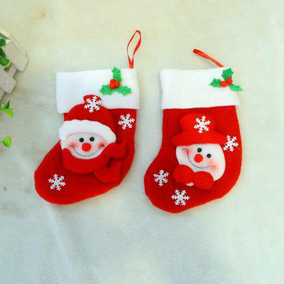 2pcs Snowman Gift Socks Knife and Fork Bag Christmas Tree OrnamentsChristmas Supplies<br>2pcs Snowman Gift Socks Knife and Fork Bag Christmas Tree Ornaments<br><br>Material: Nonwoven<br>Package Quantity: 2 x Socks<br>Package size (L x W x H): 15.00 x 12.00 x 2.00 cm / 5.91 x 4.72 x 0.79 inches<br>Package weight: 0.0300 kg<br>Product size (L x W x H): 16.00 x 9.00 x 1.00 cm / 6.3 x 3.54 x 0.39 inches<br>Product weight: 0.0200 kg<br>Usage: Party, Christmas, New Year