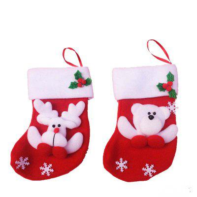 2pcs Bear and Deer Gift Socks Knife and Fork bag Christmas Tree OrnamentsChristmas Supplies<br>2pcs Bear and Deer Gift Socks Knife and Fork bag Christmas Tree Ornaments<br><br>Material: Nonwoven<br>Package Quantity: 2 x Socks<br>Package size (L x W x H): 15.00 x 12.00 x 2.00 cm / 5.91 x 4.72 x 0.79 inches<br>Package weight: 0.0300 kg<br>Product size (L x W x H): 16.00 x 9.00 x 1.00 cm / 6.3 x 3.54 x 0.39 inches<br>Product weight: 0.0200 kg<br>Usage: Party, Christmas, New Year