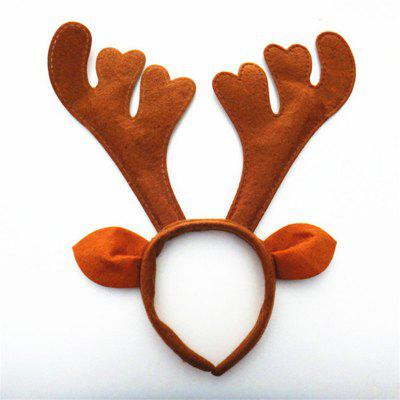 Christmas Antlers Headband Holiday Birthday Party Props Supplies