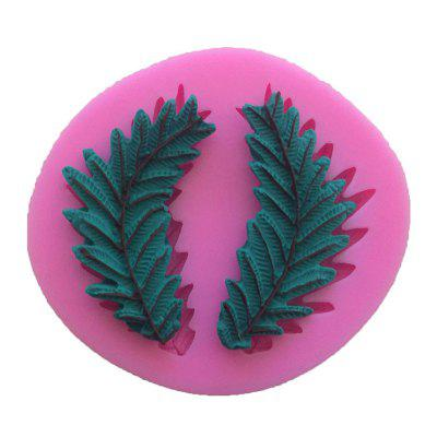 AY - XP134 Leaf Pattern Fondant Mold for Cake Decoration