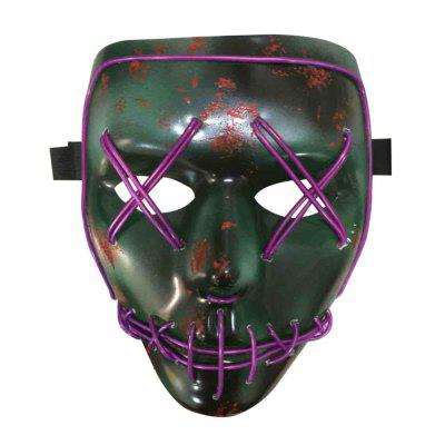 BRELONG Halloween Mask Creative Horror for Make-up PartyNovelty lighting<br>BRELONG Halloween Mask Creative Horror for Make-up Party<br><br>Available Light Color: Blue,Green,Pink,Purple,Yellow<br>Brand: BRELONG<br>Color Temperature or Wavelength: 450 - 435nm(blue); 577 - 492nm(green); 380 - 360nm(pink); 455 - 350nm(purple); 597 - 577nm(yellow)<br>Features: Easy to use<br>Function: Studio and Exhibition Lighting, Home Lighting, Commercial Lighting<br>Model: always on - slow flash - flash<br>Output Power: &lt;0.5W<br>Package Contents: 1 x Mask, 1 x Battery Box<br>Package size (L x W x H): 26.00 x 18.00 x 10.00 cm / 10.24 x 7.09 x 3.94 inches<br>Package weight: 0.1100 kg<br>Product size (L x W x H): 25.00 x 17.00 x 8.00 cm / 9.84 x 6.69 x 3.15 inches<br>Product weight: 0.0850 kg<br>Sheathing Material: ABS<br>Voltage (V): 3V
