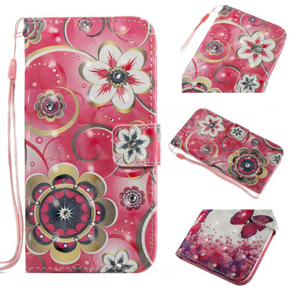 Tulip Flower 3D Painting Point Drill Phone Case for Iphone X