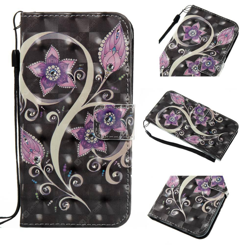 Peacock Flower 3D Painting Point Drill Phone Case for Iphone X