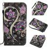 Peacock Flower 3D Painting Point Drill Phone Case for Iphone X - COLORMIX